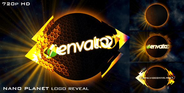 After Effects Project - VideoHive NANO PLANET logo reveal 128234