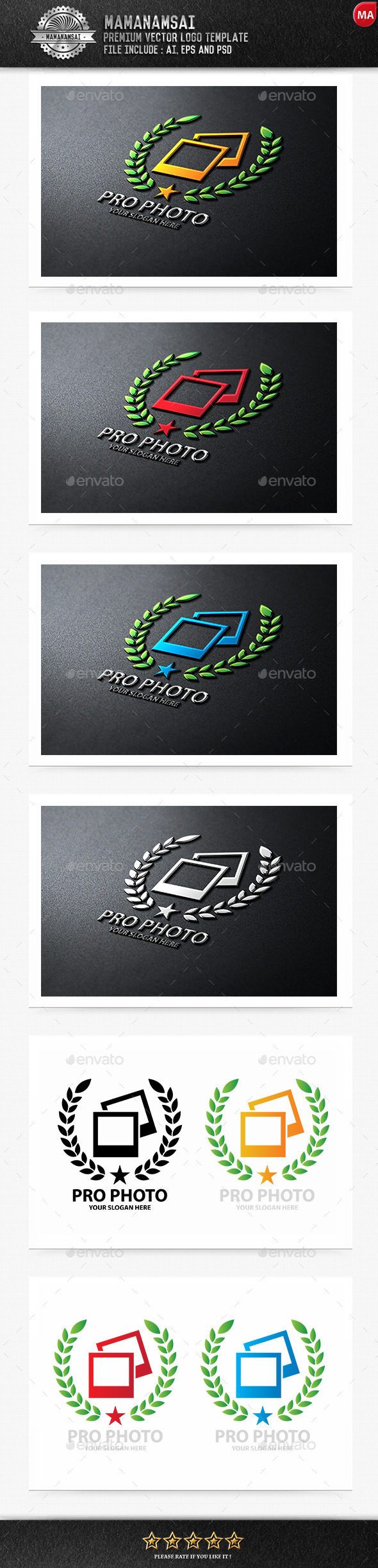 GraphicRiver Pro Photo Logo 10148853