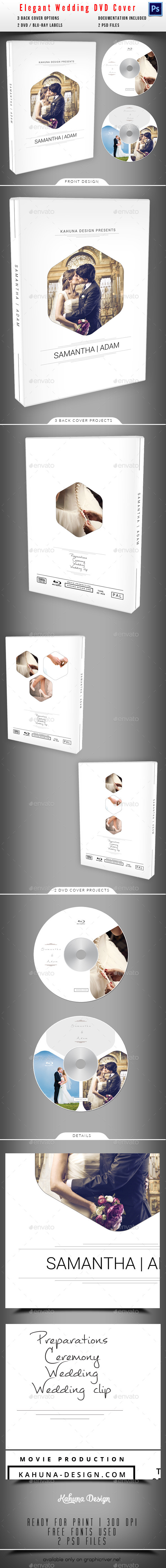 GraphicRiver Wedding DVD Blu-Ray Cover 04 10148854