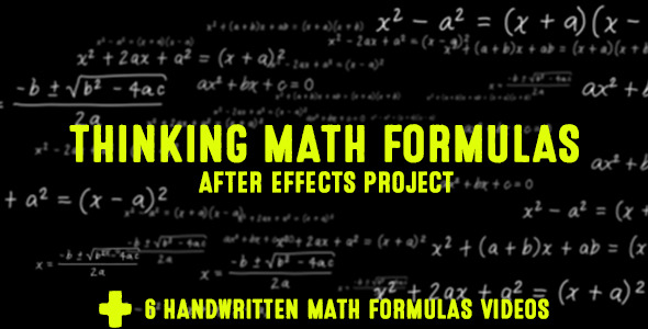 Thinking Math Formulas (Elements)