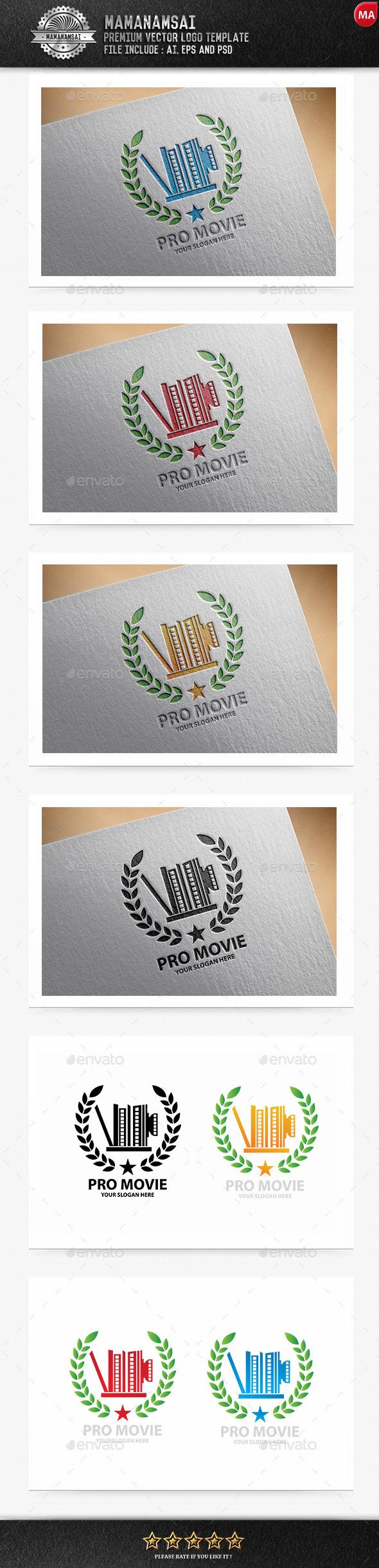 GraphicRiver Pro Movie Logo 10149019