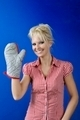 Woman with  kitchen glove - PhotoDune Item for Sale