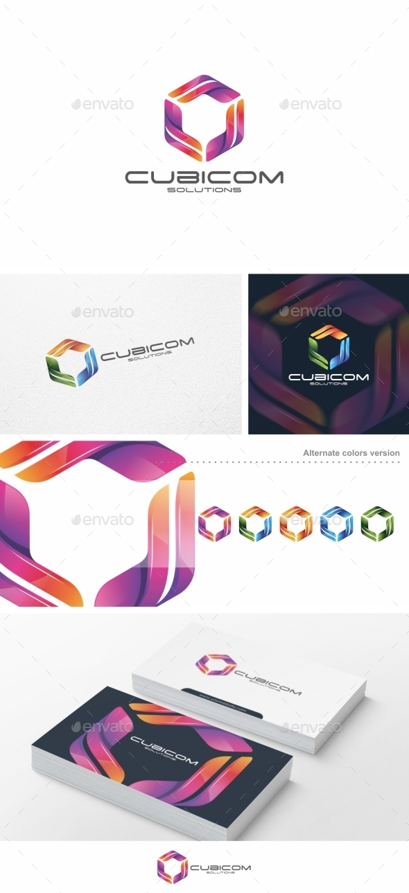 GraphicRiver Cubicom Logo Template 10149147