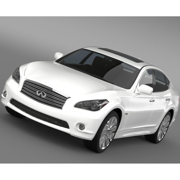 Infiniti M35h Y51 2013 - 3DOcean Item for Sale