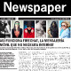 BW Newspaper Template - GraphicRiver Item for Sale