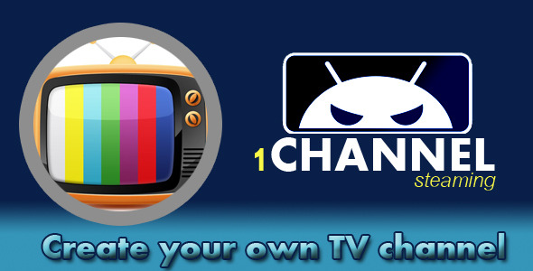 CodeCanyon 1 Channel App TV 10150124