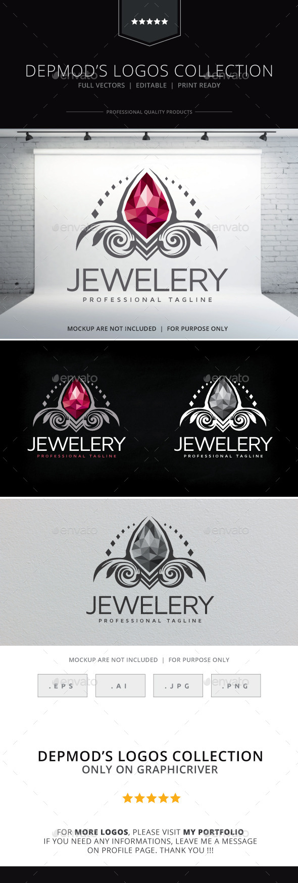 GraphicRiver Jewelery Logo 10150144