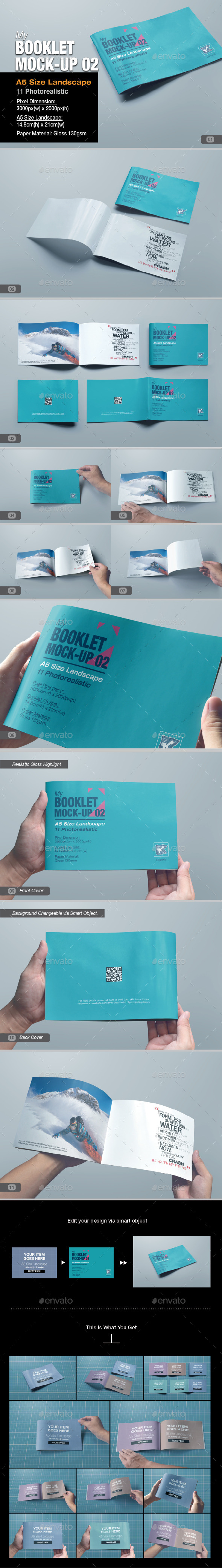 GraphicRiver myBooklet Mock-up 02 10114545