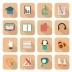 Set of e-Learning Icons - GraphicRiver Item for Sale