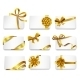 Cards with Gold Bows - GraphicRiver Item for Sale