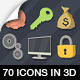 70 Animated 3D Icons for Explaner Video - VideoHive Item for Sale
