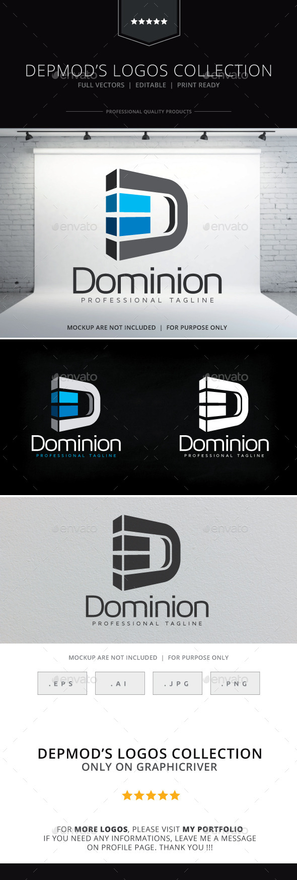 GraphicRiver Dominion Logo 10152085