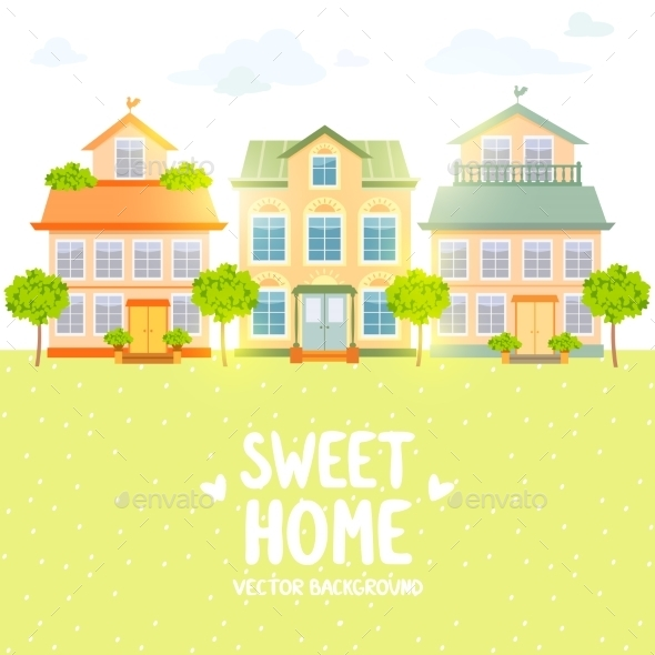 GraphicRiver Houses 10152547