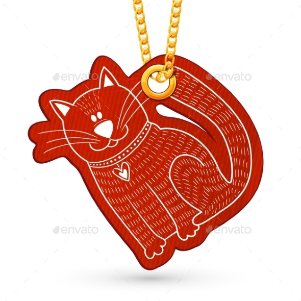GraphicRiver Cartoon Cat 10153313
