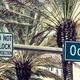 Panoramic view of Ocean Drive street sign - PhotoDune Item for Sale