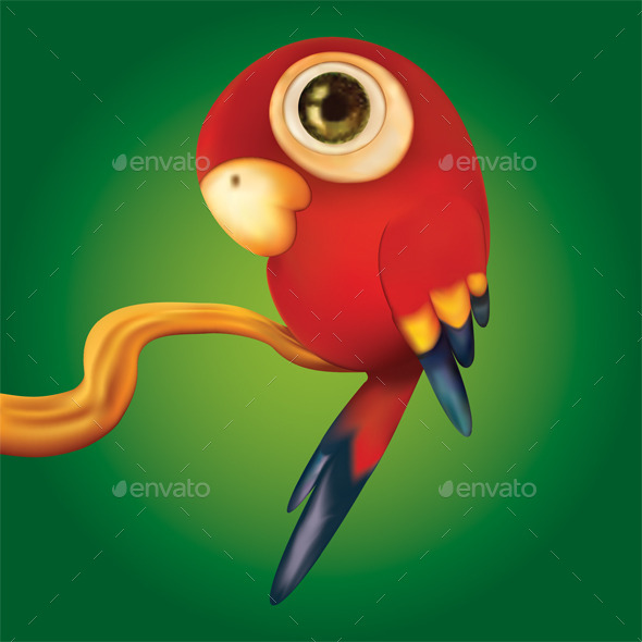 GraphicRiver Little Parrot 10154991