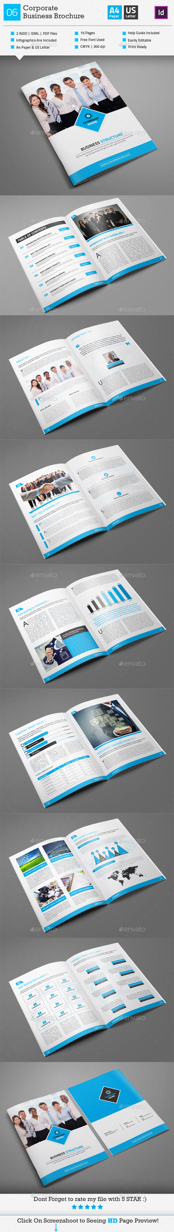 GraphicRiver Corporate Business Brochure 06 10154992