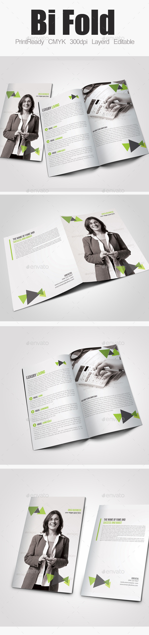 GraphicRiver Bi Fold Business Brochure 10154998