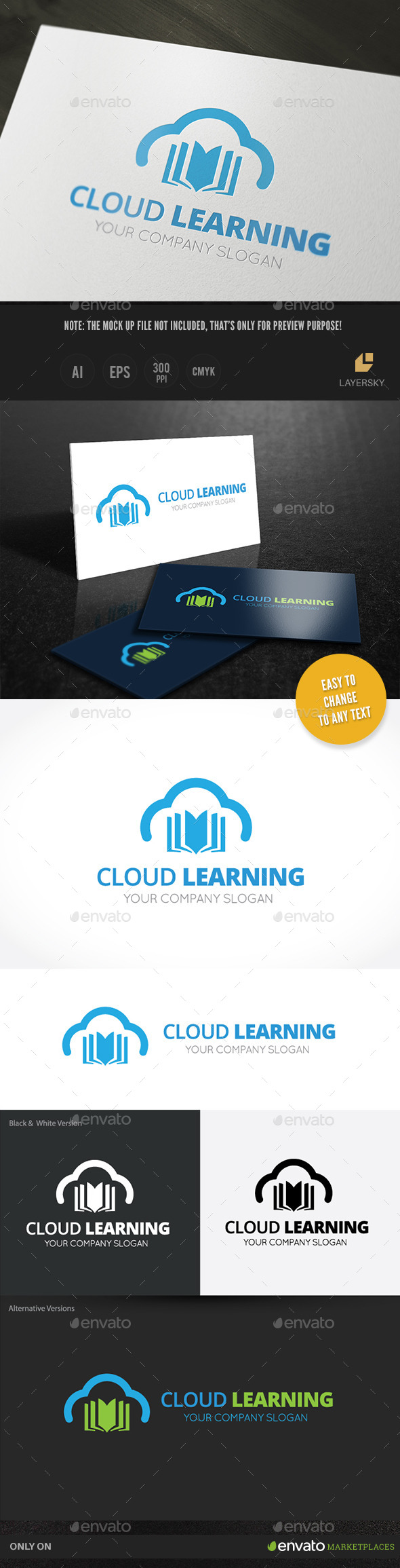 GraphicRiver Cloud Learning 10155016