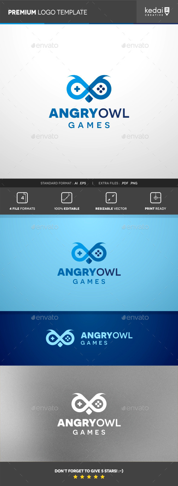 GraphicRiver Angry Owl 10155017