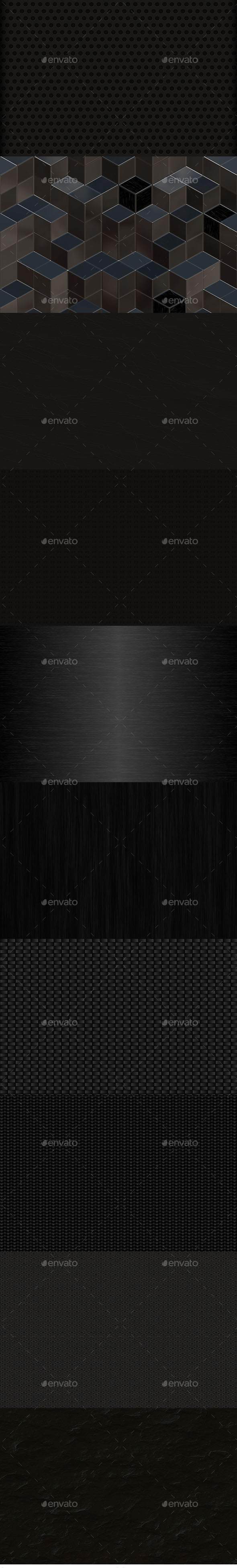 GraphicRiver Black Backgrounds 10155055