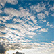 Clouds in the Blue Sky Before Sunset - VideoHive Item for Sale