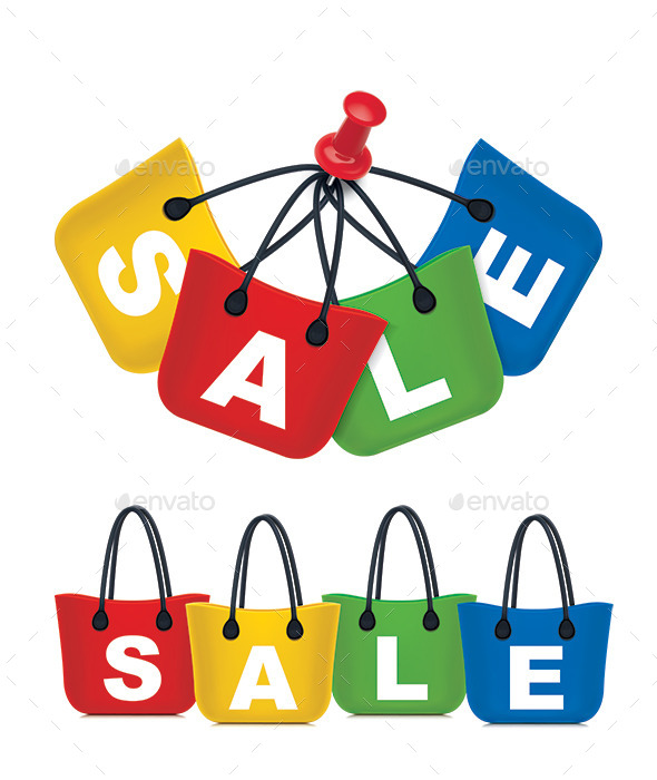 Sale Shopping Bag Set