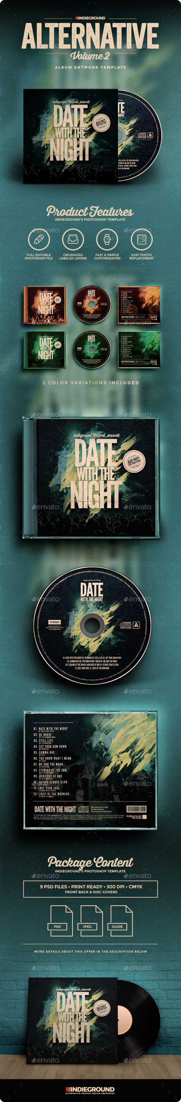 Alternative CD Album Artwork Vol 2