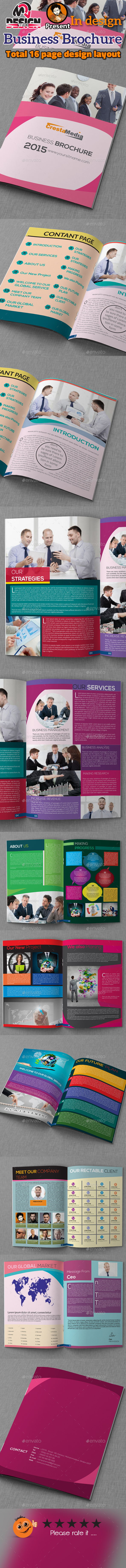 16 Page Business Brochure