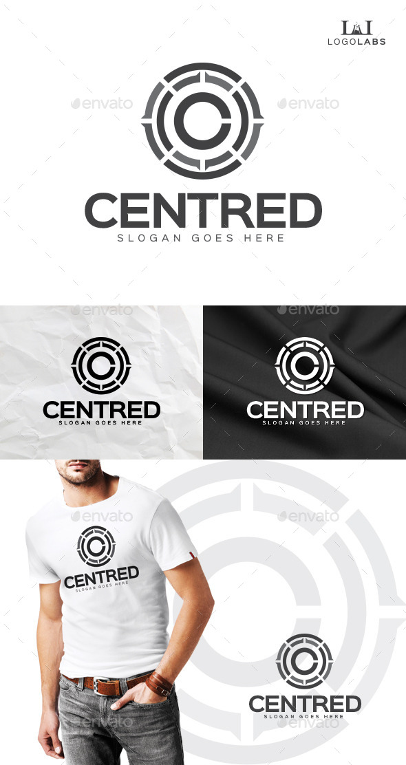 GraphicRiver Centred C Logo 10155304
