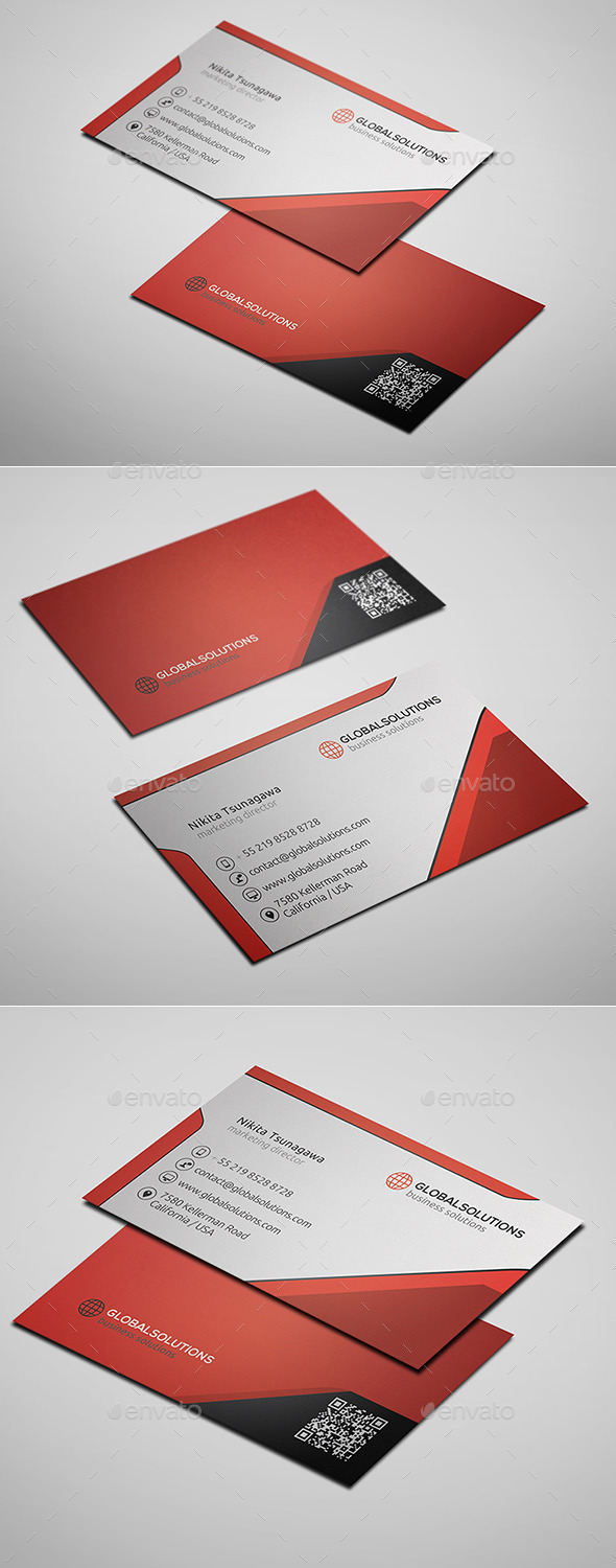 GraphicRiver Corporate Business Card 2 10155433