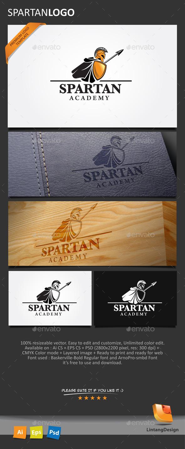 GraphicRiver Spartan Logo-001 10155697
