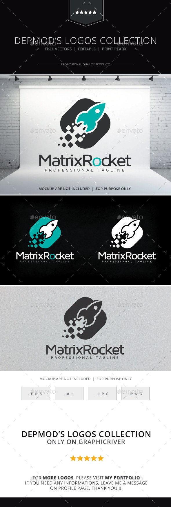Matrix Rocket Logo