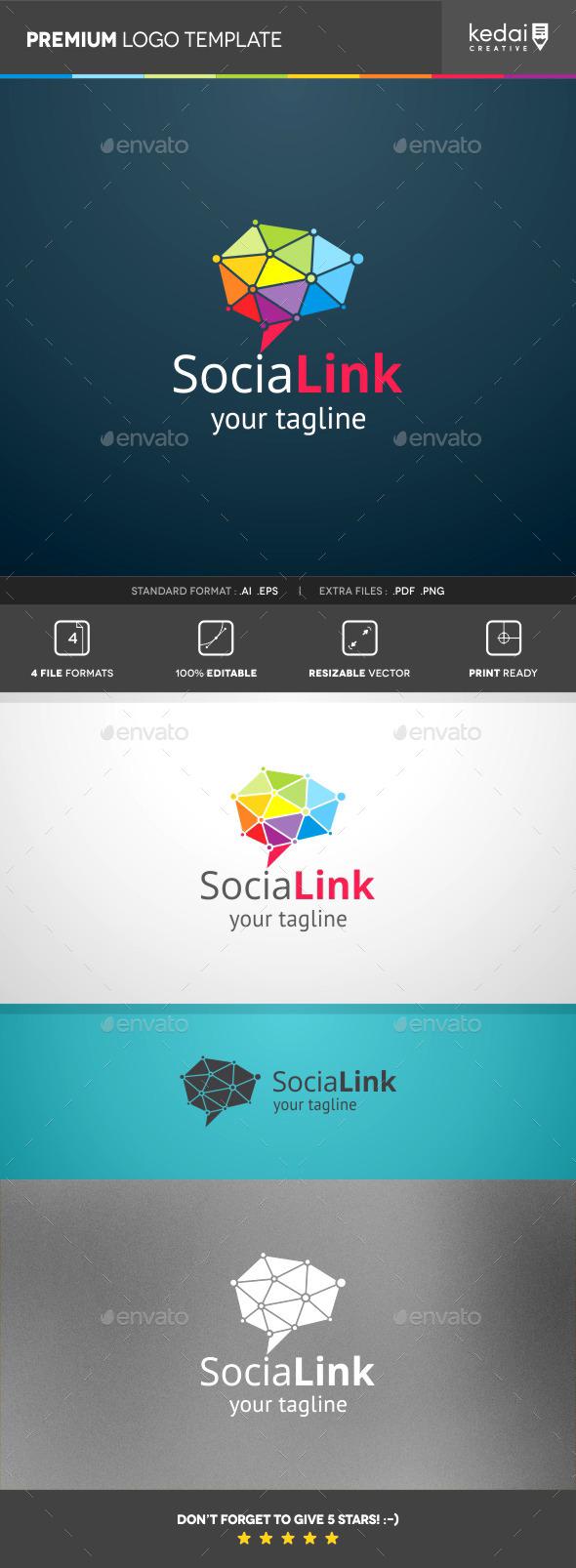 GraphicRiver Social Link 10155948