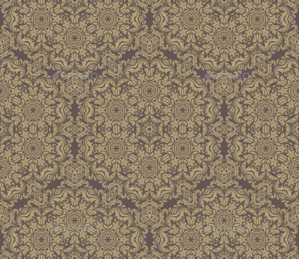 GraphicRiver Pattern in the Style of Baroque 10156135