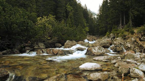 VideoHive River & Rocks Landscape 10156156