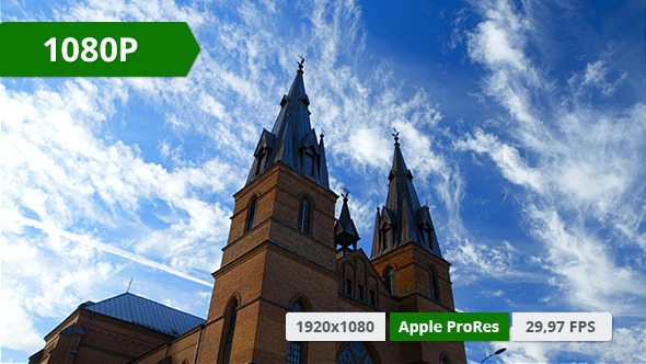 VideoHive Church on a Summer Day 10156758