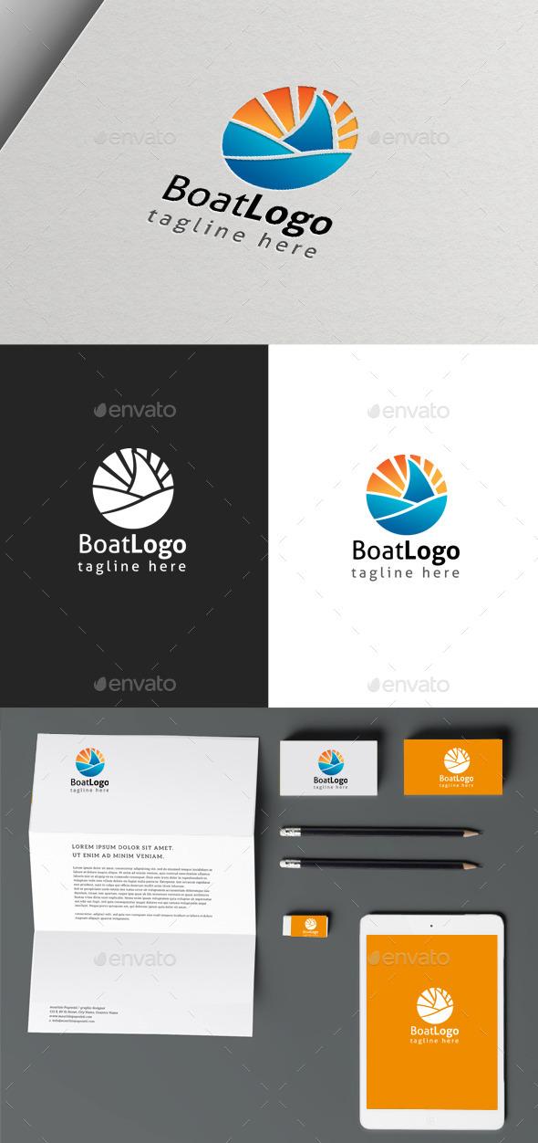 GraphicRiver Boat Logo 10157150