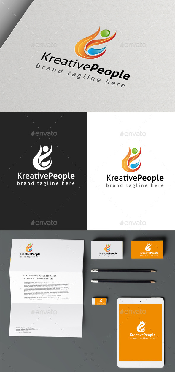 GraphicRiver Creative People 10157175