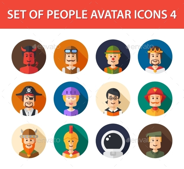 GraphicRiver Avatars 10157647