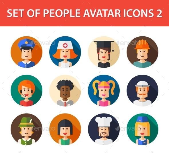 GraphicRiver Avatars 10157685