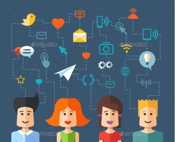 GraphicRiver Social People 10157699