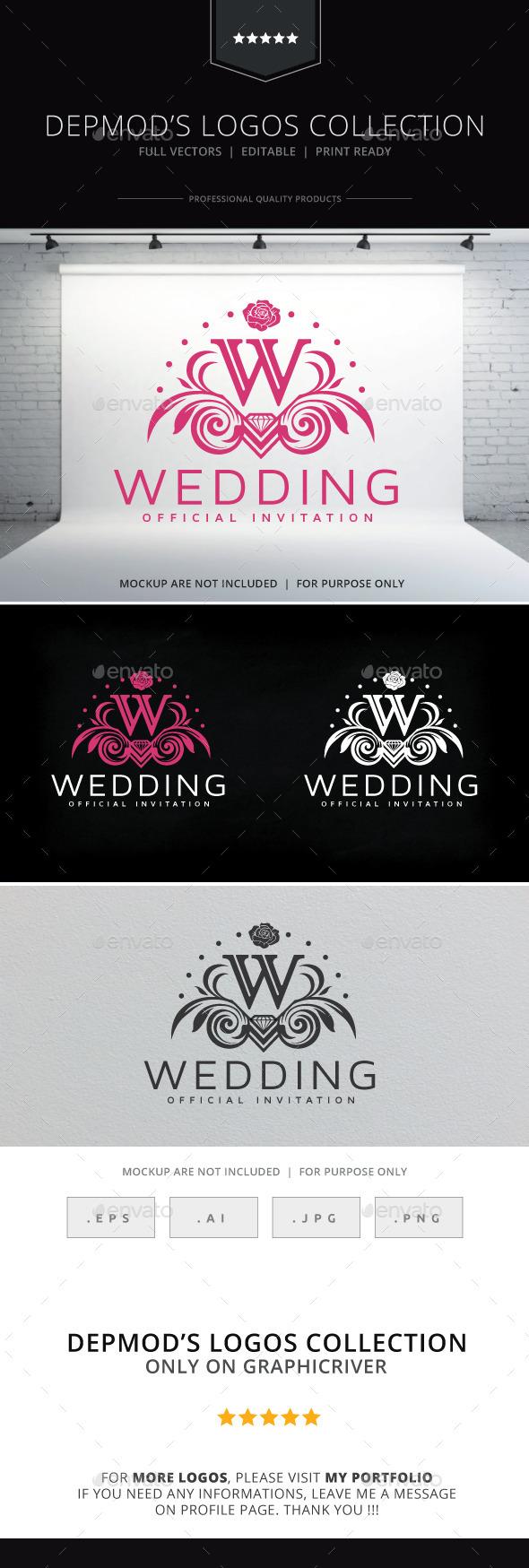 GraphicRiver Wedding Logo 10157723