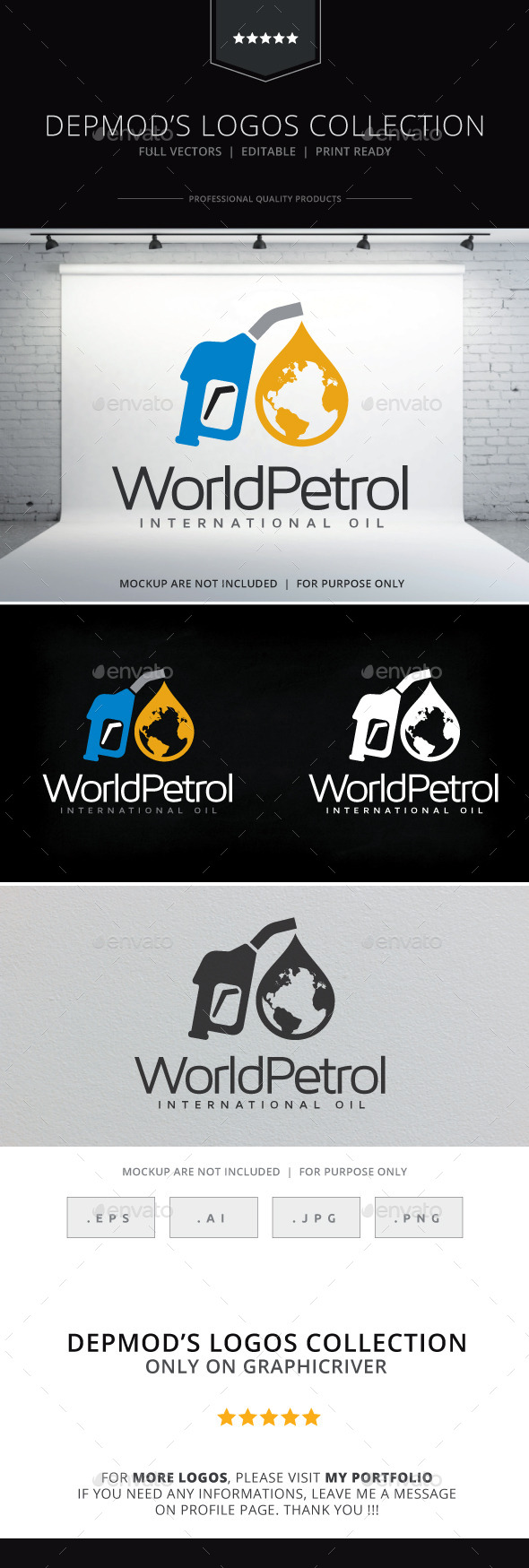 GraphicRiver World Petrol Logo 10157867