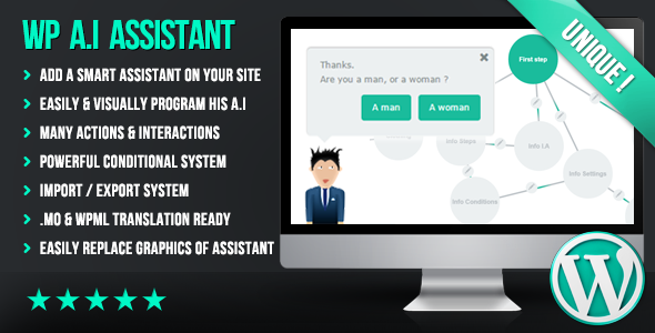 WP A.I Assistant - CodeCanyon Item for Sale