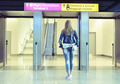 Girl in the airport - PhotoDune Item for Sale