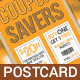 Coupon Flyer / Postcard  - GraphicRiver Item for Sale