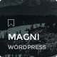 Magni - Responsive WordPress Blog Theme - ThemeForest Item for Sale