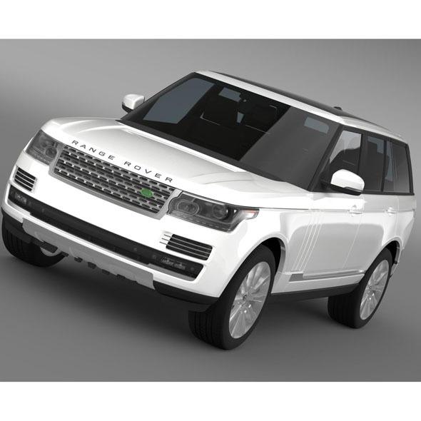 LandRover RangeRover HSE Td6 2015 - 3DOcean Item for Sale