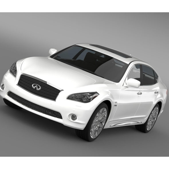 Infiniti M35hL Y51 2013 - 3DOcean Item for Sale